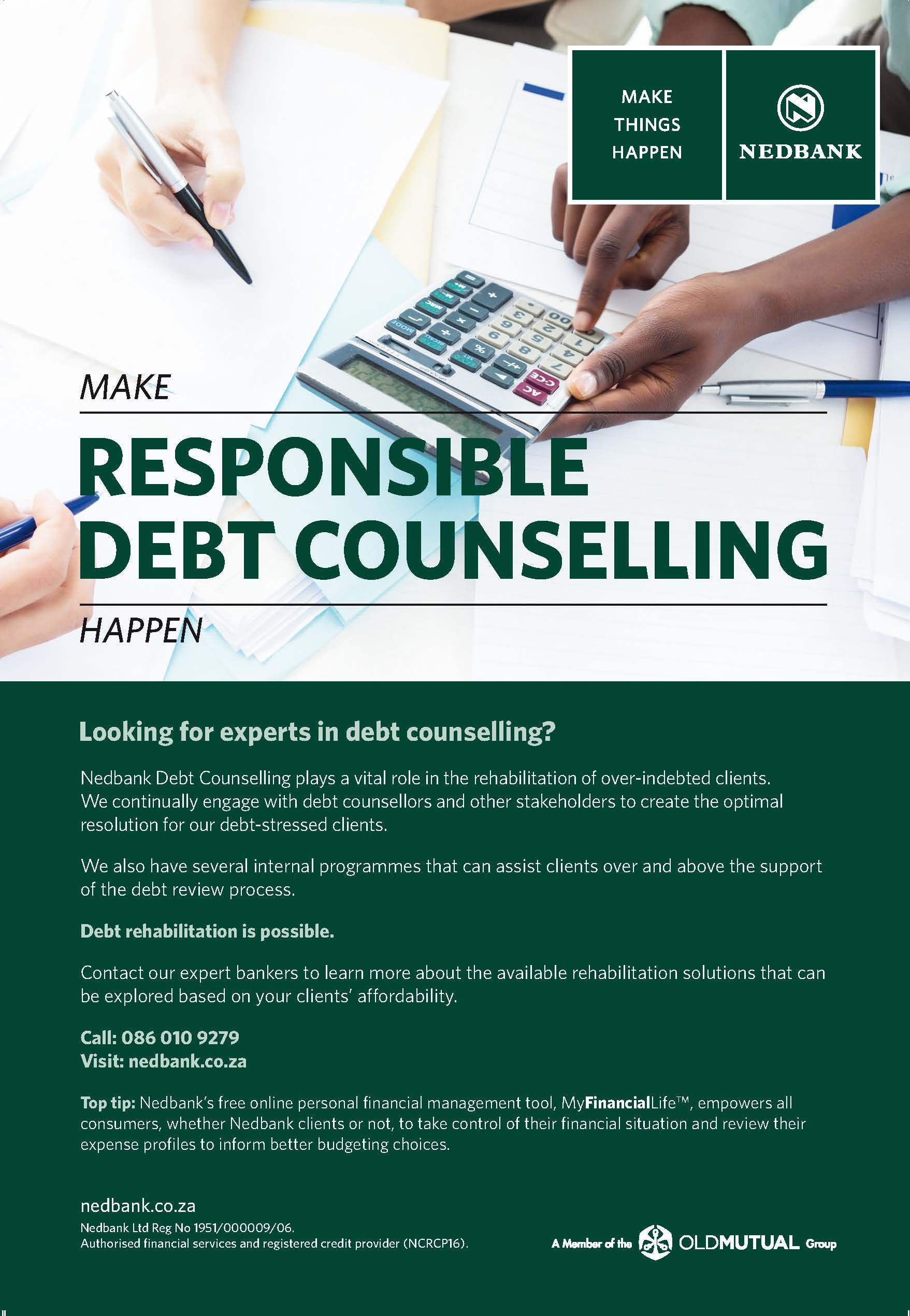 Nedbank Web profile trimmed Debt Counselling Advert_V3